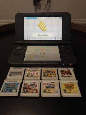New Nintendo 3DS XL Black for Sale in Dallas, TX