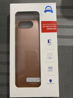 iPhone 6plus 7plus 8plus battery case for Sale in Carson, CA