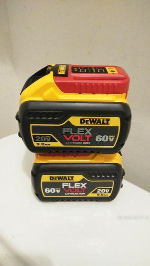 DeWalt baterías nuevas 9.0 for Sale in Long Beach, CA