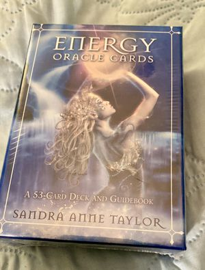 Energy Oracle Cards by Sandra Anne Taylor Brand New for Sale in Las Vegas, NV