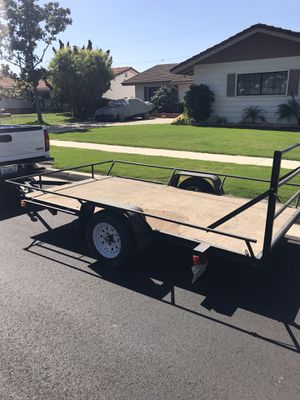 Utility trailer 10x5 pink in hand for Sale in Westminster, CA