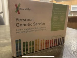23andMe DNA test for ancestry & health for Sale in Damascus, OR