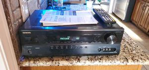 Onkyo home theater receiver. 7.1 2 stage for Sale in Fort Worth, TX