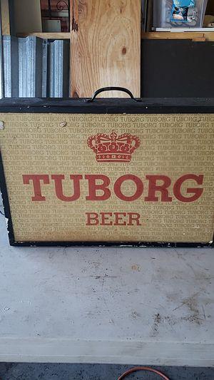 Vintage lighted Tuborg beer sign 20x14, local pickup only for Sale in LAKE CLARKE, FL