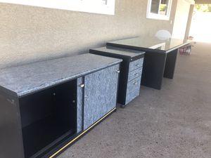 Three Piece Desk for Sale in North Las Vegas, NV