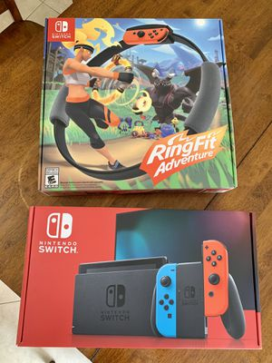 Nintendo Switch and Ring Fit Adventure for Sale in Winter Haven, FL