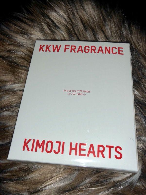 Kim Kardashian KKW Kimoji Heart fragrance Perfume Bae totally sold out