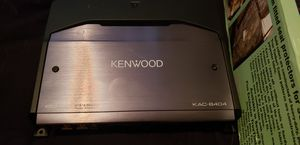 Kenwood excelon series, good amp for Sale in Wichita, KS