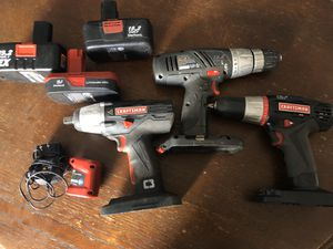 Craftsman C3 Drills and Impact for Sale in West Chicago, IL