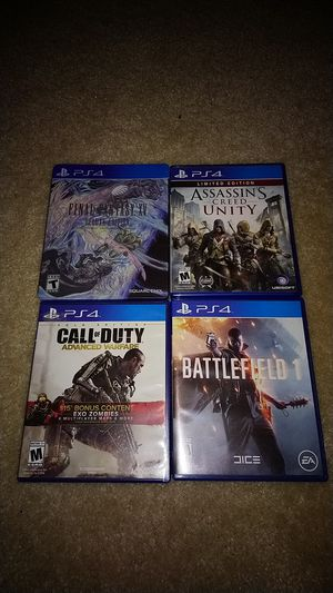 Selling PS4 Games - All good condition for Sale in Centreville, VA