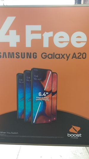 Free Samsung A20S and Stylo 5! for Sale in Spokane, WA