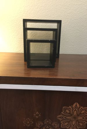 Set (3) wall shelves for Sale in Las Vegas, NV