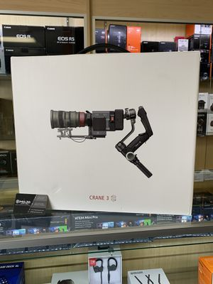 Brand New Crane 3s Gimbal Stabilizer in Store Now for Sale in Los Angeles, CA