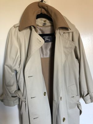 Burberry Coat (Long one) for Sale in Stockton, CA