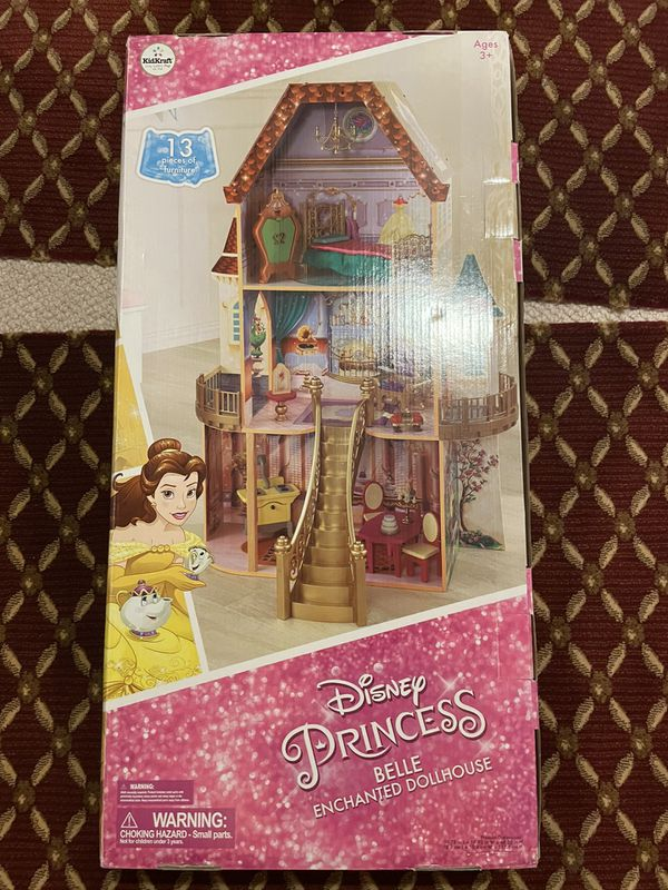 Disney Princess Doll House With Many Accessories
