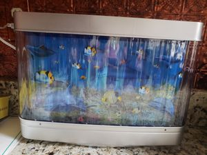 Simulated fish tank decoration for Sale in Baltimore, MD