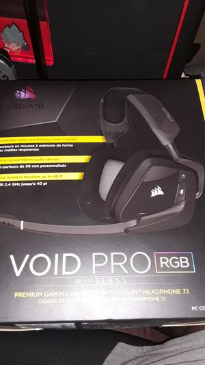 Void Pro RGB gaming headset for Sale in Los Angeles, CA
