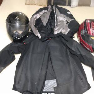 Motorcycle Gear 2X Leather Biker Jacket for Sale in Dallas, TX