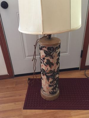 Vintage gorgeous tall table lamp. Have two! for Sale in San Diego, CA