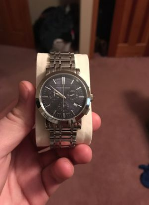 Burberry Chronograph watch for Sale in Delaware, OH