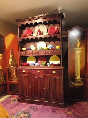 Open China cabinet FREE LOCAL DELIVERY for Sale in Sarasota, FL
