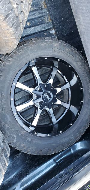 Moto metal rims 20x10 for Sale in Fort Washington, MD