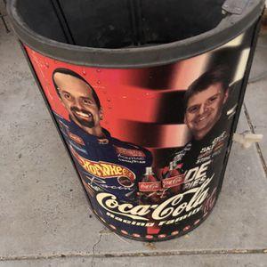 Coke Coca Cola NASCAR Cooler No Lid for Sale in Clovis, CA