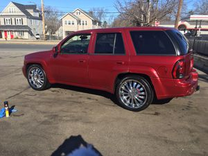 """Selling 22"""" inch 6 lug universal rims chrome for Sale in Boston, MA"""
