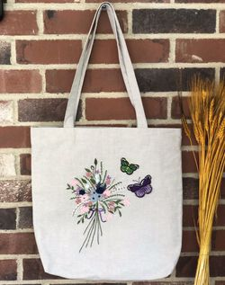 Hand Embroidered Tote Bag for Sale in Pittsburgh,  PA