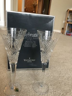 Waterford Toasting Flutes Love for Sale in Batavia, IL