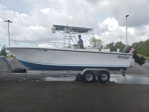 24ft Center Console Boat with Evinrude 250hp Motor! for Sale in Miami, FL