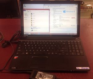 "Touchscreen laptop Toshiba 15"" windows 8 hdmi cd/dvd - PRICE IS FIRM for Sale in Columbus, OH"