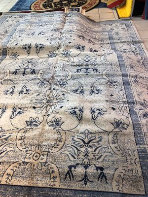 9 x 12 nice new brand new light blue persian rug for Sale in Beverly Hills, CA