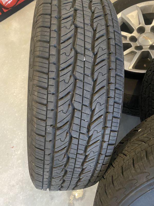 2020 Chevy Silverado Wheels