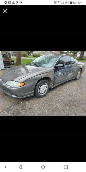 2002 Chevy Monte Carlo LS for Sale in Gladwin, MI
