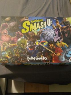 Smash Up Big Geeky Box Card Game Boardgame for Sale in Copperas Cove,  TX