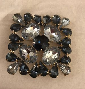 """A gorgeous, big 2 """" square 1950's brooch. 70 yrs old for Sale in Los Angeles, CA"""
