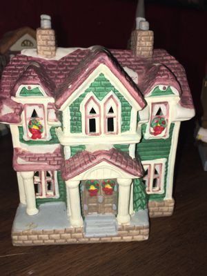 Hand painted porcelain house decorated in Christmas for Sale in Hurricane, WV