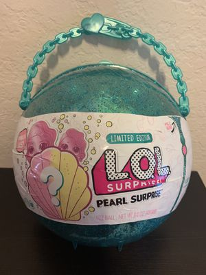 LOL Surprise Pearl Surprise limited edition teal big LOL DOLL with accessories NEW SEALED for Sale in Lake Forest, CA