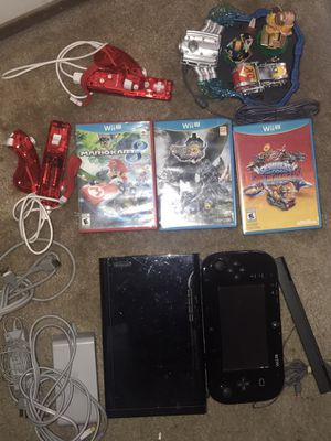 Nintendo Wii U System + More for Sale in Hayward, CA