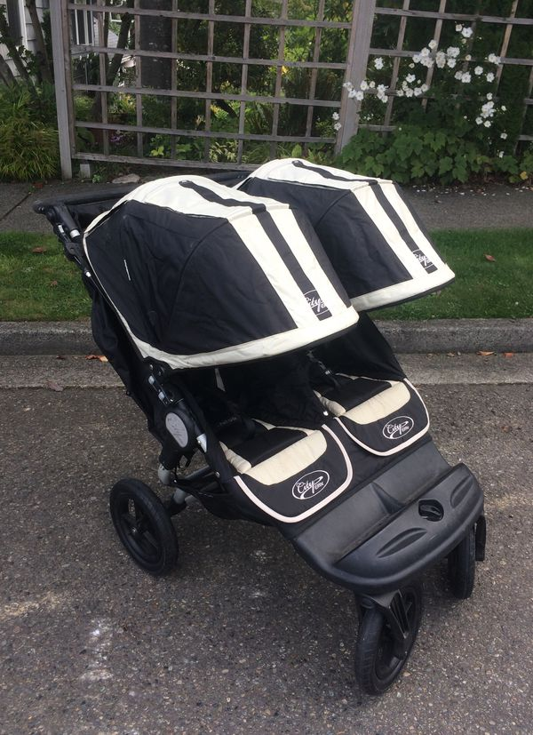 City elite double stroller
