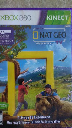 NatGeo Kinect Xbox 360 game for Sale in Phoenix, AZ