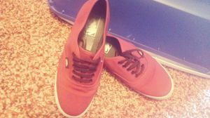 Maroon vans size 9 for Sale in Poland, IN