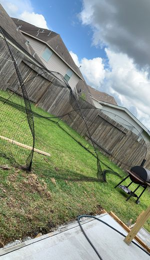 Baseball batting cage from academy for Sale in Houston, TX
