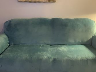 Black Leather Couch For $300/ Black Leather Loveseat For $350 for Sale in Homestead,  FL