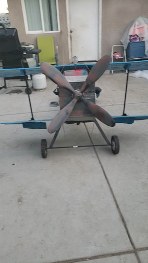 Vintage decoration plane for Sale in Fresno, CA