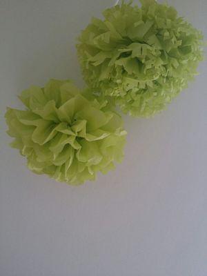 Tissue paper poms for Sale in Fairfax, VA