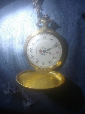 Very rare splendor 17 jewels swiss made pocket watch for Sale in Birch River, WV