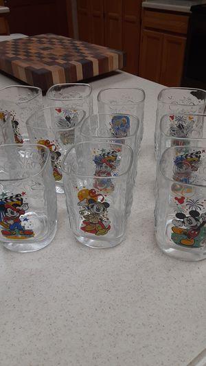 Collection of Disney glasses/Glendale for Sale in Glendale, AZ