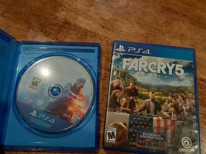 Battlefield 5 & Farcry5 for Sale in Los Angeles, CA